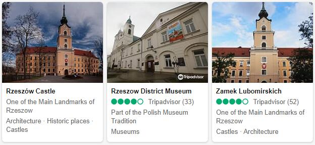 Rzesow Attractions